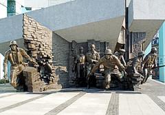 Poland-00922 - Warsaw Uprising Monument (archer10 (Dennis) 85M Views) Tags: poland warsaw sony a6300 ilce6300 18200mm 1650mm mirrorless free freepicture archer10 dennis jarvis dennisgjarvis dennisjarvis iamcanadian novascotia canada globus