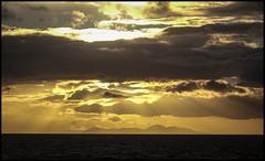 "Manx Series "" Sunset 1"" (Der Reisefotograf) Tags: isle man manx iom landscape clouds sunset ray light"