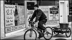 Downtown, 2016 (alhawley) Tags: american bw usa acros blackandwhite candid cinematic everytownusa fujifilmxt10 fujinonxf35mmf2rwr monochrome photoessay photojournalism socialdocumentary street streetphotography topeka