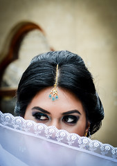 Mirada secreta (OneMarie!) Tags: eyes look mirada ojos girl woman hindu white face portrait nikon d7100 nikond7100