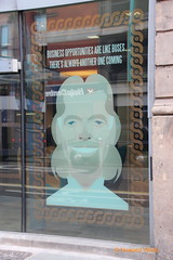Clever Dick (SelmerOrSelnec) Tags: manchester oxfordstreet window sirrichardbranson