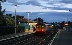 150230 at Cadoxton (robmcrorie) Tags: cadoxton wales cardiff barry station train rail railway dawn class 150 sprinter dmu commuter arriva trains 150230