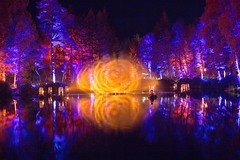 Enchanted Perthshire (reiver iron - RMDPhotos.co.uk) Tags: enchanted forest faskally loch 2016 pitlochry son et lumiere sound lights night illuminated reflection long exposure perthshire scotland