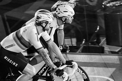 Mark Cavendish and Sir Bradley Wiggins (matthodgkin) Tags: 6daylondon all allrightsreserved cycling leepark leeparkvelodrome london matthodgkin photosbymatthodgkin sixdaylondon uk velodrome copyright wwwmatthodgkincom six day trackcycling track bike race 6london