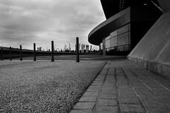 A Sense of Space (John fae Fife) Tags: fujifilmx noiretblanc xe2 luxembourg monochrome bw blackandwhite landscape nb urban