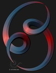 69 Degrees (Erroba) Tags: math art colors 69 abstract twirl spiral twist erlend robaye erroba belgium belgië belgique canon 5dmarkiii