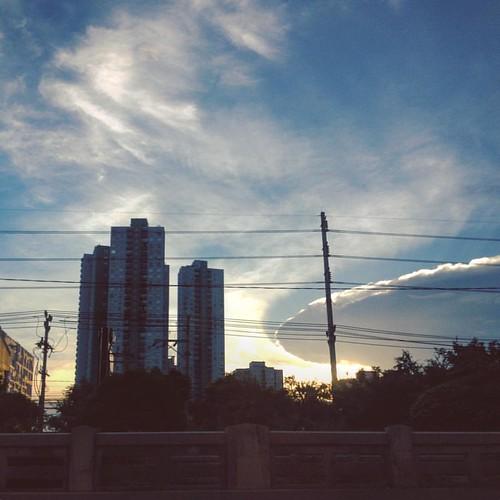 ยานแม่บุก #id4 #sky #town #cityscape #bangkok