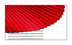 Japanese Colours (richieb56) Tags: japan travel reisen country world welt asia umbrella schirm red white symbol karma inspiration