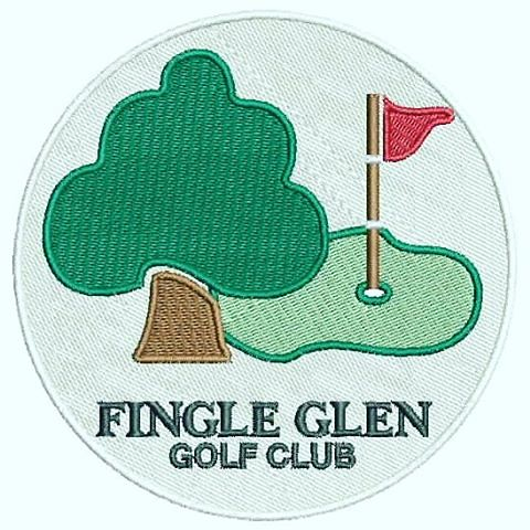 #golf⛳️  #embroidery  www.IndianDigitizer.com