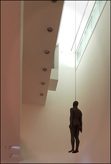 Object 1999 by Anthony Gormley (alanhitchcock49) Tags: national portrait gallery london sculpture november 2016 anthony gormley object 1999