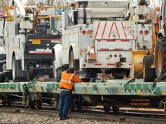 Sparkin 1 (Milwaukee beerNut) Tags: up wi racine cnw 605 mow maintenance trackwork relay
