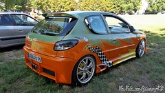 PEUGEOT 206 (gti-tuning-43) Tags: peugeot 206 tuning tuned modified modded meeting show expo event langres 2016 cars auto automobile voiture