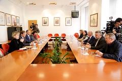 Reunião com a CGTP-IN - Confederação Geral dos Trabalhadores Portugueses - Intersindical Nacional