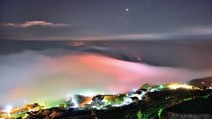 ~~   Colored glass light (Shang-fu Dai) Tags:  taiwan   sunset   clouds nikon d800  alishan waterfall  landscape  formosa afd2870mmf35 liulilazurite coloredglasslight