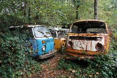 in loving memory... (annafn1512) Tags: beetle kfer urbex urban exploration rusty bully bus