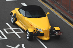 Plymouth, Prowler, Causeway Bay, Hong Kong (Daryl Chapman Photography) Tags: t12358 1d mkiv plymouth prowler american pan panning cwb causewaybay car cars auto autos automobile canon eos is ii 70200l f28 road engine power nice wheels rims hongkong china sar drive drivers driving fast grip photoshop cs6 windows darylchapman automotive photography hk hkg bhp horsepower brakes gas fuel petrol topgear headlights worldcars daryl chapman darylchapmanphotography