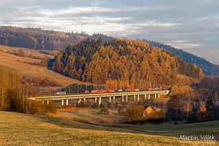 386.005 Metrans Rail, Dlouhá Třebová - Česká Třebová (CZ)