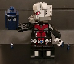 Doctor who/ marvel (Letgoofmylego) Tags: nick fury agentof shield agents antman gaintman doctor who marvel lego custom offival offical tv comics movie