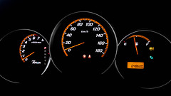 Honda Fit Aria (Aadil Chouji Schiffer) Tags: car cars vehicle vehicles auto autos interior inside meter meterboard board cluster metercluster gauge gauges ilumination honda fit aria orange halo lights ホンダ ホンダフィットアリア ホンダフィット フィットアリア jdm japanese sony xperia z2 xperiaz2 sonyxperia sonyxperiaz2