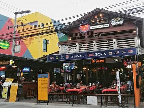 The Islander is one of the original restaurants and bars in Chaweng, Koh Samui. #Thailand #kohsamui #samui #bars #bar #nightlife #restaurant #islander #chaweng