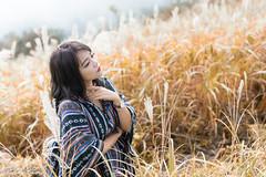 DSC_1294 (Robin Huang 35) Tags: 孫卉彤 candy 陽明山 芒草 秋芒 大屯山 lady girl d810 nikon