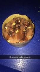 Florida 2016 (Elysia in Wonderland) Tags: disney world orlando florida holiday 2016 elysia turtle brownie chocolate cake dessert pudding restaurantosaurus animal kingdom restaurant caramel