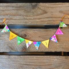 Matlida (Emma Bunting) Tags: birthday bunting cake mini emma happy vintage retro straws handmade made britain