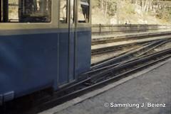 Garmisch-Partenkirchen Zugspitzbahn 03.1972 (Pacific11) Tags: railway railroad mrz 1972 winter eisenbahn bayern garmisch partenkirchen garmischpartenkirchen track train engine traffic zugspitze bahnhof station vintage alt damals car wagon sign zugspitzbahn zahnradbahn triebwagen berg mountain