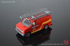 No. 679 | MAJORETTE | Ford Econoline Bomberos (www.diecastfirecollection.com) Tags: diecast metal model toy emergency fire feuerwehr bomberos pompiers fuoco department fd 164 collection majorette ford econoline