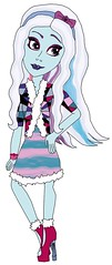 Monster High Drop Dead Disco - Abbey Bominable (BreannamationUndenial) Tags: monster high monsterhigh drop dead disco artwork mattel dolls doll abbey bominable