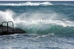 Sirocco (Charles_RAMOS-iVision18000) Tags: 55300 photography atlantic waves wind storm water color sky horizon blue foam spray africa nikon d7200 digital slr dslr ocean nikkor