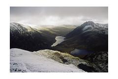 Ogwen and Idwal (osh rees) Tags: landscape mountain ssnowdonia wales winter snow morning light weather film nikon fm2n voigtlander 28mm color skopar kodak gold 400 canadian lab scan