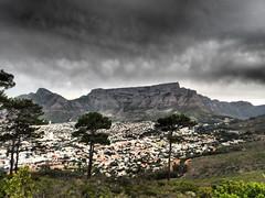 The Dark Table (jan-krux photography - thx for 1.7 Mio+ views) Tags: table mountain clouds wolken tafelberg cape town kapstadt south africa suedafrika western westkap dark dunkel landschaft landscape olympus em1 omd