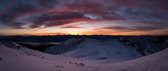 IMG_7177-Pano20161204 (Zac Li Kao) Tags: japan canon g1x nagano mountain hike mountaineering climb hiking snow winter sky outdoor sunset sunrise