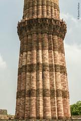 DSC5605 Qutub Minar, ao 1199, Delhi (Ramn Muoz - ARTE) Tags: delhi india qutub minar