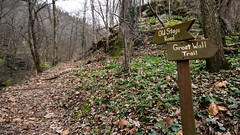 signs (cleotalk) Tags: asbury trails ky kentucky hiking wilmore