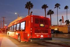 MTS Bus (So Cal Metro) Tags: bus sandiego metro pb 600 transit pacificbeach mts rt9 sandiegotransit newflyer c40lfr bus609