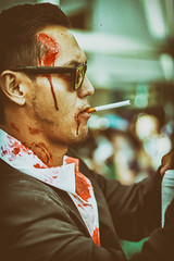 20150703-IMG_1791-Edit.jpg (Josephlh1976) Tags: costumes portrait anime japanese cool blood cosplay cigarette character shades animeexpo gungrave bunji kugashira