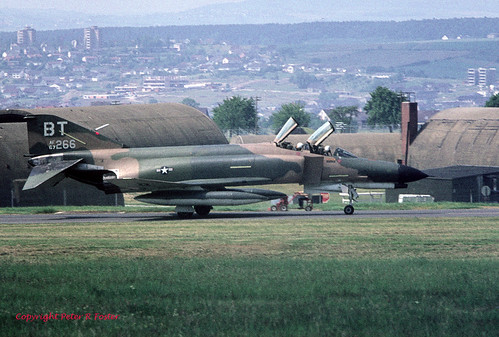 McDonnell F-4E Phantom II 67-0266 BT 36thTFW 25-06-74