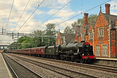arriving Atherstone for water (GVG Imaging) Tags: d200 atherstone 46115 scotsguardsman mainlinesteam nikkor1685vr thelakesexpress