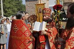 072. Patron Saints Day at the Cathedral of Svyatogorsk / Престольный праздник в соборе Святогорска