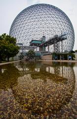 Bioshere (stevenbulman44) Tags: summer sky holiday metal expo montreal dome 1967 bioshpere 1740f40l