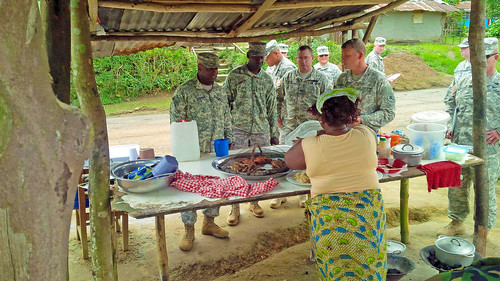 Michigan National Guard continues mentor mission to Liberian armed forces
