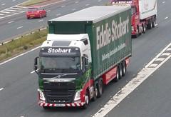 H4286 - KN15 MLU (Cammies Transport Photography) Tags: road park marie truck volvo lorry eddie carlisle fh m6 flyover eloise esl mlu stobart eddiestobart h4286 kn15 kn15mlu