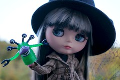 Blythe a Day 10 October 2015 - Monsters