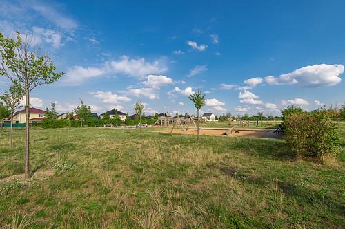 Schmetterlingswiesen mit Spielplatz Foto: Ole Bader