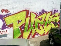 PUZLE (UTap0ut) Tags: california art cali graffiti la los paint angeles socal cal graff utapout