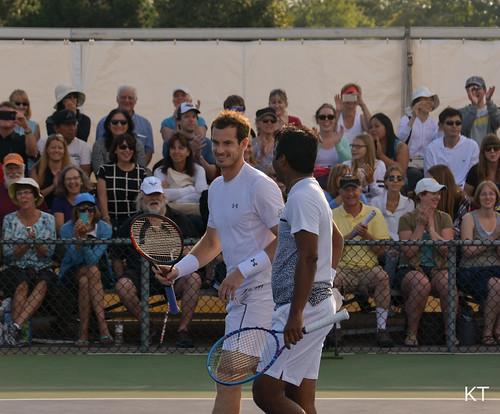 Leander Paes - Andy Murray & Leander Paes