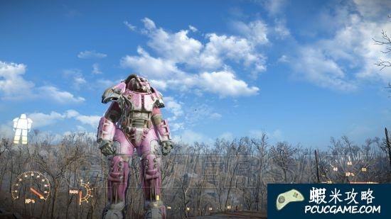 異塵餘生4 粉紅色動力裝甲塗裝獲得方法