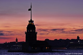 Pink Sunset Maiden's Tower